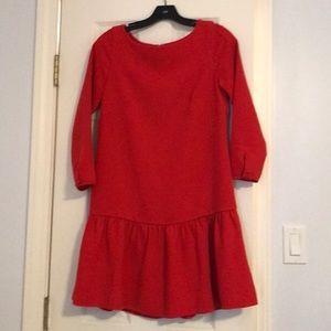 JCrew drop waist dress